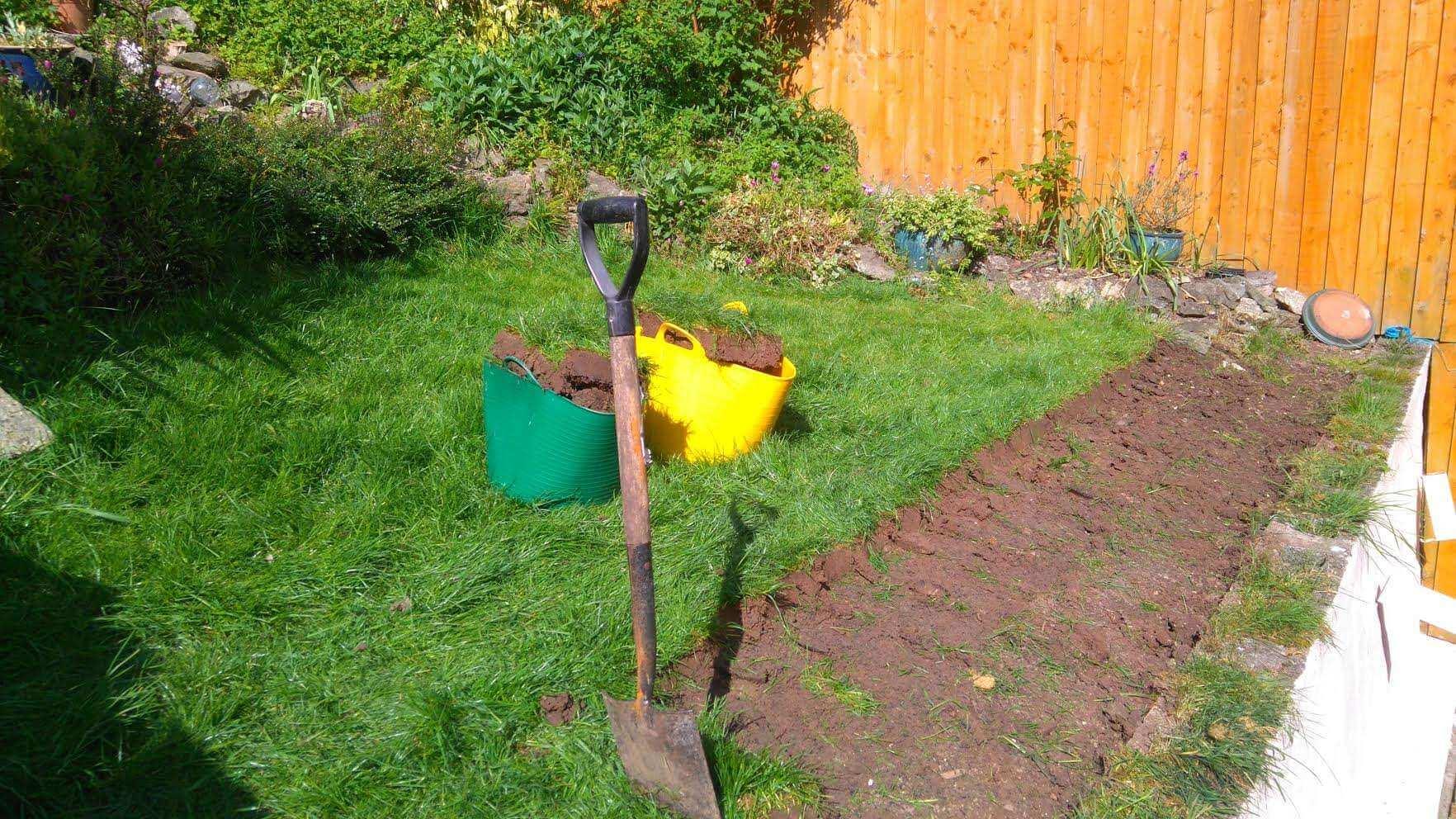 Landscape image of a Bristol garden having gardening work done by Bristol gardener, Bark and Gardens